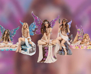 Limited Edition Jewelled Fairies